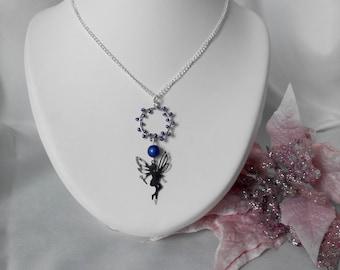 Blue Fairy necklace