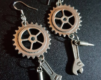 Mad Max earrings