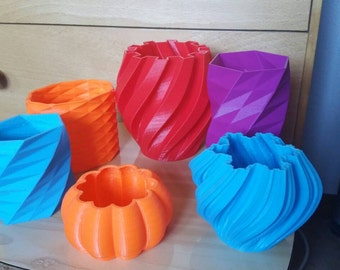 3d printed vase, gear, vase, decoration, perfect gift, 3d printed lamp, gear vase, halloween, customised vase, pumpkin, party decoration
