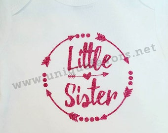 Big Brother ~ Big Sister ~ Little Brother ~ Little Sister custom design! Other finishes and colors available! Personalized with name FREE!