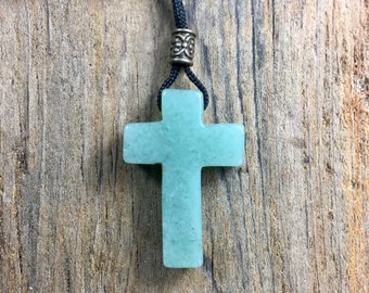 Green Aventurine Cross