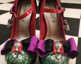 Halloween style high heels