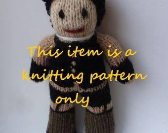 PDF knitting pattern: Frank N Furter (Rocky Horror)