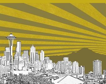 Seattle Print