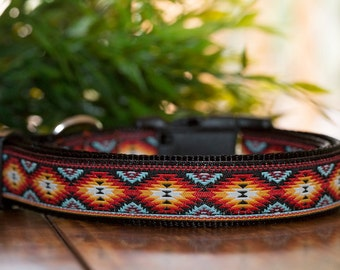 Tribal Dog Collar / XS-XL / Dog Collars Australia / Navajo Dog Collar