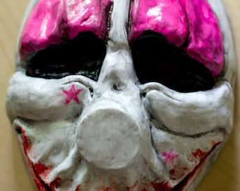 inspired Payday the Heist Houston Hoxton game mask Cosplay Halloween team band payday2