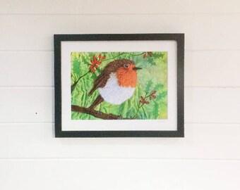 Robin Print A4