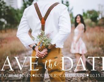 Digital Download - Custom Save the Date Postcard