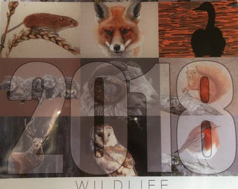 2018 Wildlife Desktop Calendar