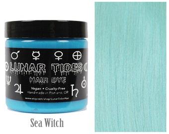 Pastel Turquoise Hair Dye