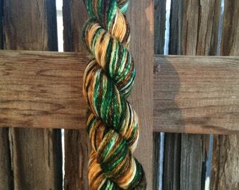 Hand dyed yarn - OOAK