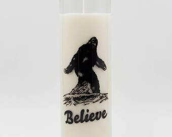 Soy Candle - Decorative Candle - Bigfoot