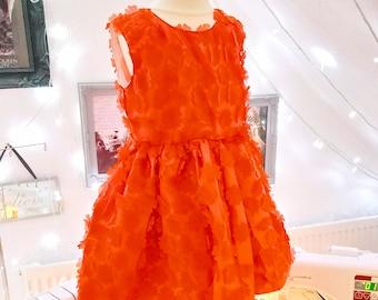 3D Flower Petal Dress