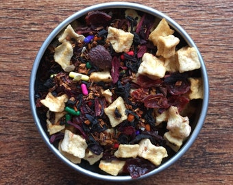 Lovegood Tea - Harry Potter Inspired Loose Leaf Tea Blend - Pina Colada - Vanilla - Cream - Sprinkles