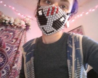 Skrillex kandi mask alien raver