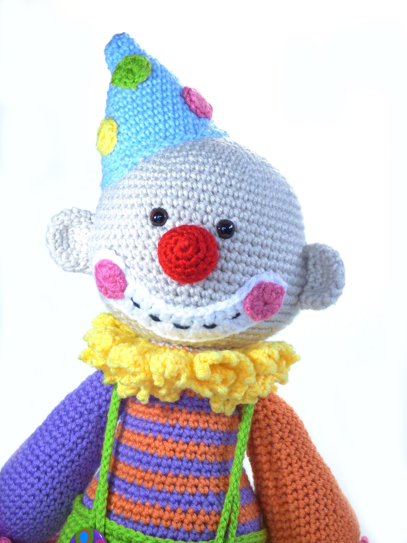 Smiley häkeln-Clown