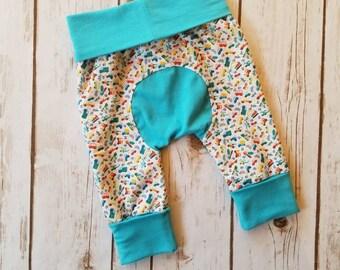 Miniloones Grow With Me Pants Car Gender Neutral Baby Leggings Maxaloones