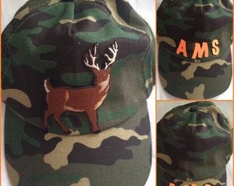 Baby camo hat, baby hat, baby camouflage hat, baby hunting hat, infant hat, infant camo hat, infant camouflage hat, baby shower gift