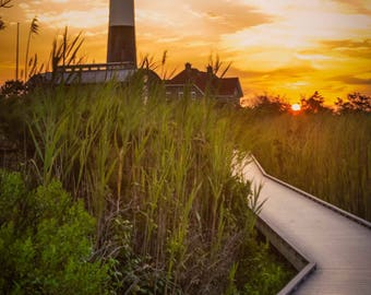 Sunrise at Fire Island Lighthouse