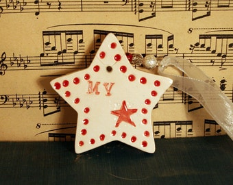 My Star, Pottery, Special Person, Super Hero, Thank you, Thanks, Reward, Well Done, Bridesmaids, Husband, Boyfriend, Girlfirend, love.