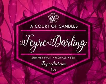 Feyre Darling - 100% Soy Wax Candle 9oz - FEYRE