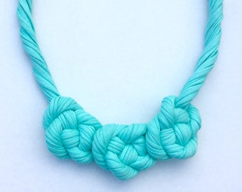 Twisted Knots Necklace