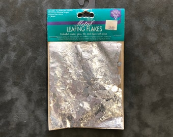 Lefranc & Bourgeois Metal Leafing Flakes Classic Aluminum/Silver 1 Gram
