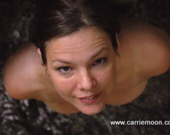 Rare 8x10 Photo Carrie Moon