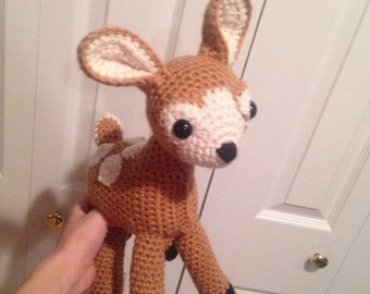 Crochet Deer Stuffy