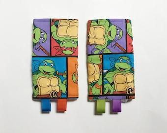 Suck Pads teenage mutant ninja turtles for Ergo Beco Lillebaby Tula carriers