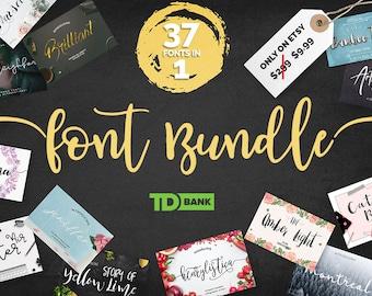 37 Fonts Bundle