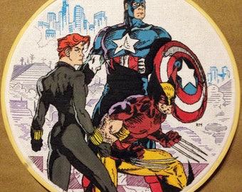 Uncanny X-Men 268 Embroidery
