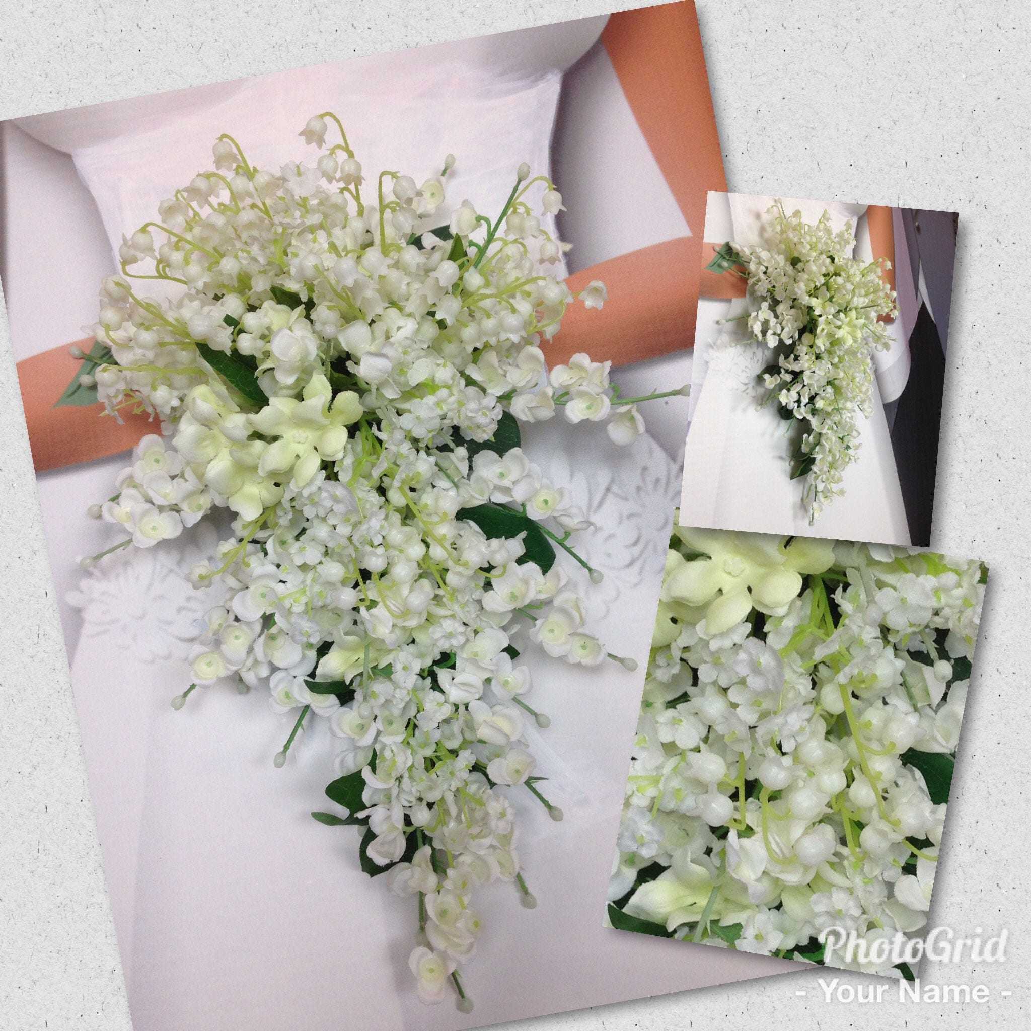 Custom princess kates wedding bouquet lily of the valley bouquet custom princess kates wedding bouquet lily of the valley bouquet lily of the valley nosegay lily of the valley boutonnieres izmirmasajfo Image collections
