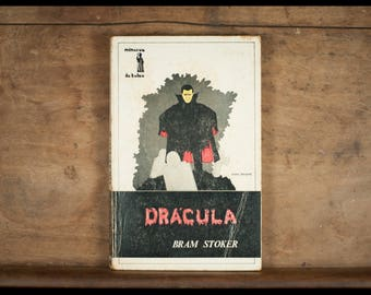 Dracula, Bram Stoker, Pocket Minerva, Version portugaise, 1975, Vampire, free of poche, vintage