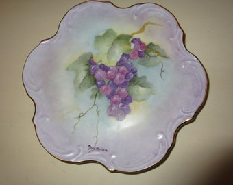 HAND PAINTED PLATE Wall Hanging