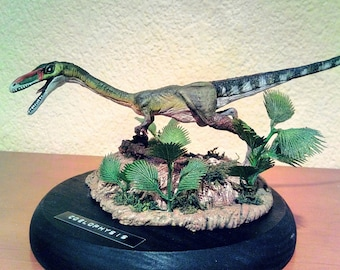 Dinosaur figure. Coelophysis
