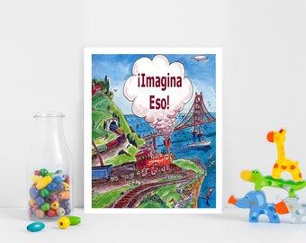 Cuentos Personalizados Infantiles, Imagina Eso, Libros Infantiles, Libros Personalizados, Libros para Niños