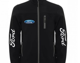 FORD Wind and Water Resistant Softshell Jacket Ford