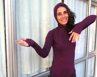 ASANA > long sleeves YOGA light sweater : sporty, simple, cozy, fit... yours?