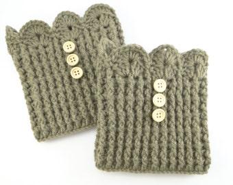 Womens Boot Cuffs,Boot Cuffs,Boot Cuffs Wool,Boot Cuffs Crochet,Boot Cuffs Women Crochet,Boot Cuffs Buttons, boot cuffs crochet / Sandycraft