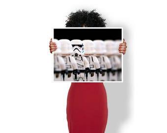 Stormtooper star wars - Art Print / Poster / Cool Art - Any Size