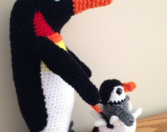 Pinguin with Baby