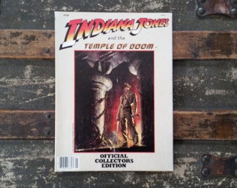 Indiana Jones and the Temple of Doom collector's magazine, Official Collector's Edition