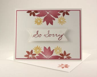Floral Miss You Cards / BS011B