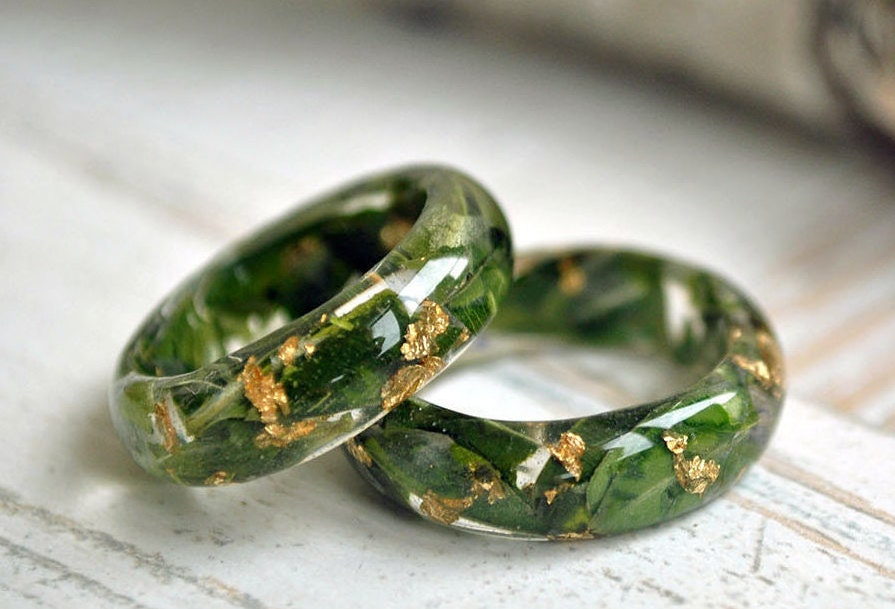zoom - Nature Inspired Wedding Rings