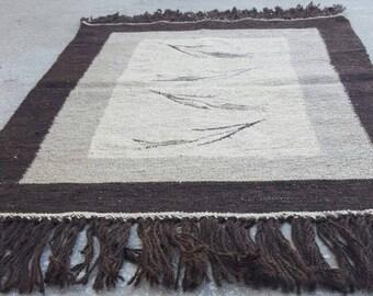 2 by 3 rug, Kilim Rug, Vintage Kilim, Turkish Kilim Rug, Small Kilim Rug, Kilim Pillow, Small Rug, Small Vintage Rug, Kitchen Rug,Oushak Rug