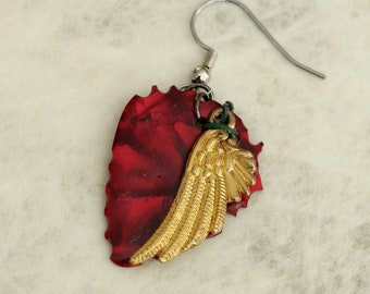 Single Guitar Pick Earring - AngeL's  La Passion