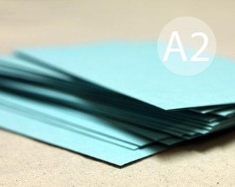 "25 A2 Turquoise Envelopes Envelopes - RSVP Envelope - 4.375 x 5.75 inches (4 3/8"" x 5 3/4"") - Seafoam green envelopes - Aqua Envelopes"