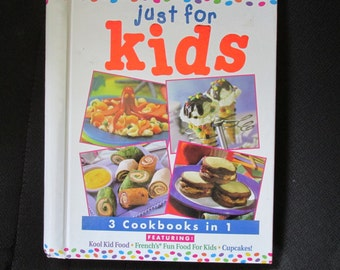 Just For Kids 3 Cookbooks in 1