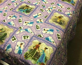 The Frog and Princess Quilt